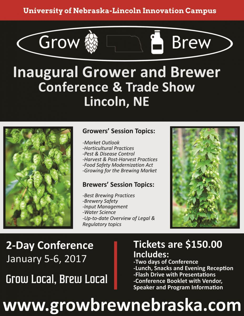 Grower and Brewer Conference announcement