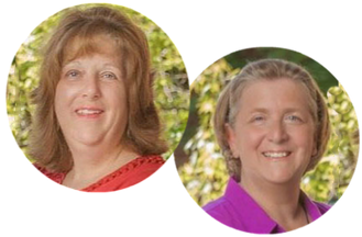 Cindy Brison and Nancy Urbanec