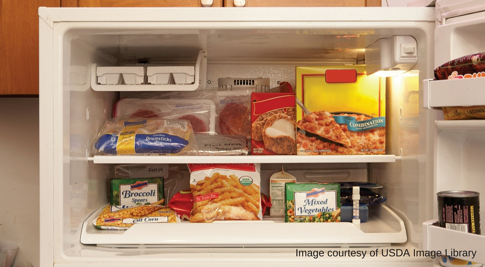 How to store food in the freezer