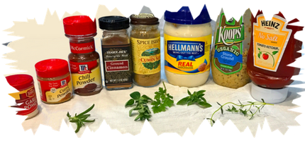 foods that can be mixed in with mayonnaise