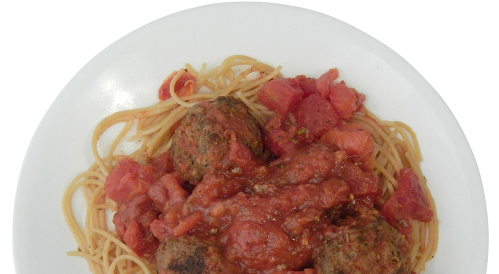 Spaghetti and Savory Meatballs