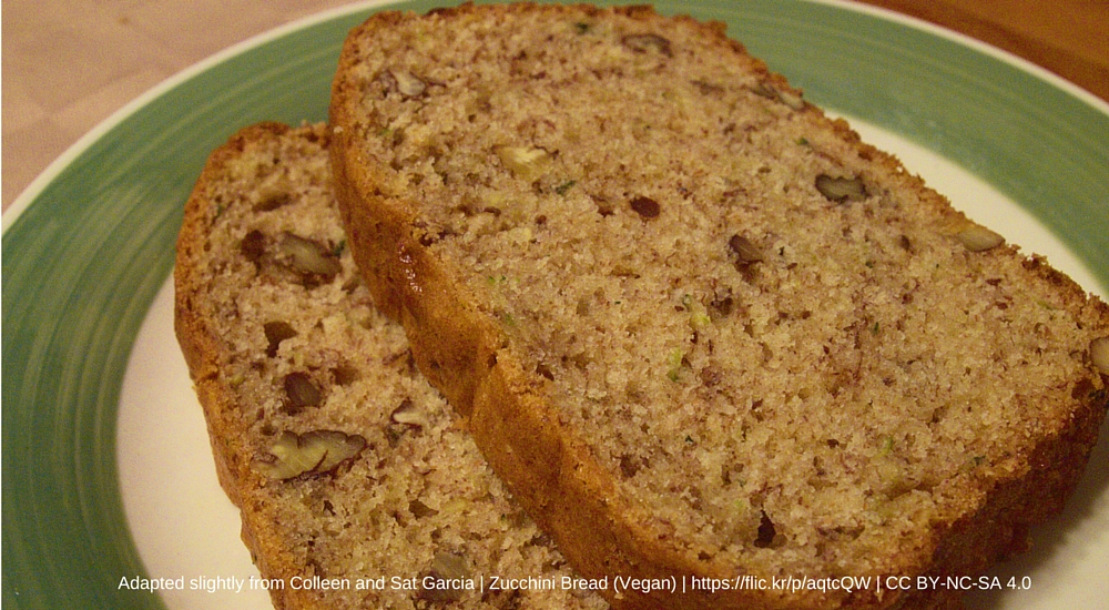 Zucchini bread recipe with whole wheat pastry flour unl food zucchini bread forumfinder Image collections