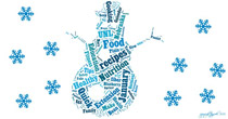 January food snowflake wordle