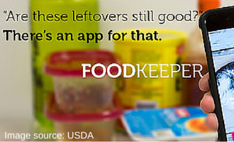 food keeper app free from USDA