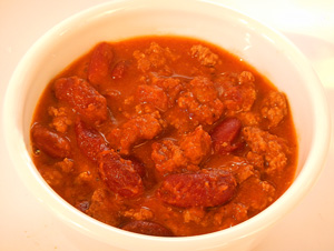 Chili with Beans and Beef Recipe