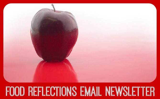subscribe to food reflections newsletter