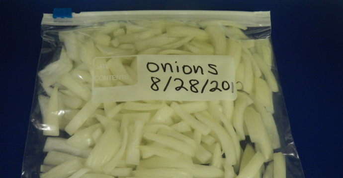 Freezing Onions Unl Food