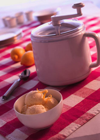 Homemade ice cream recipe