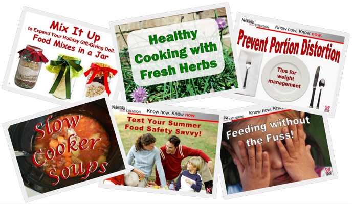 Food, Nutrition, Fitness, and Food Safety Educational Resources
