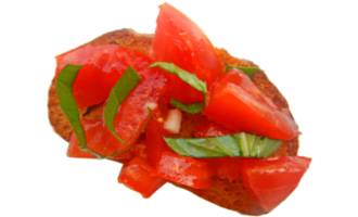 Enjoy the summer fresh tastes basil and tomatoes in this bruschetta recipe