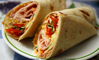 A versatile wrap recipe for a quick and light meal