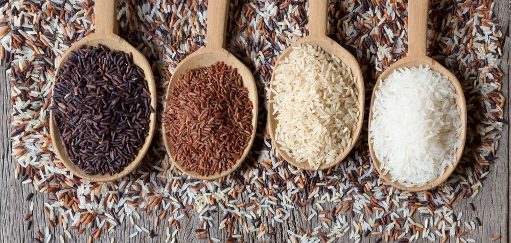 different varities of rice