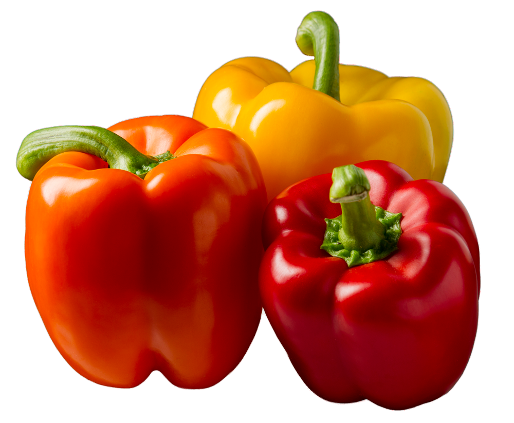 3 bell peppers