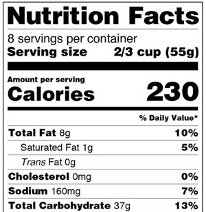 food-label