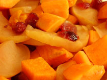 Sweet Potato Apple Casserole