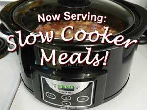 Download FREE Slow Cooker Meals PowerPoint and Handout