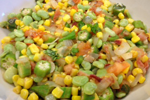 Corn and Bean Succotash Recipe