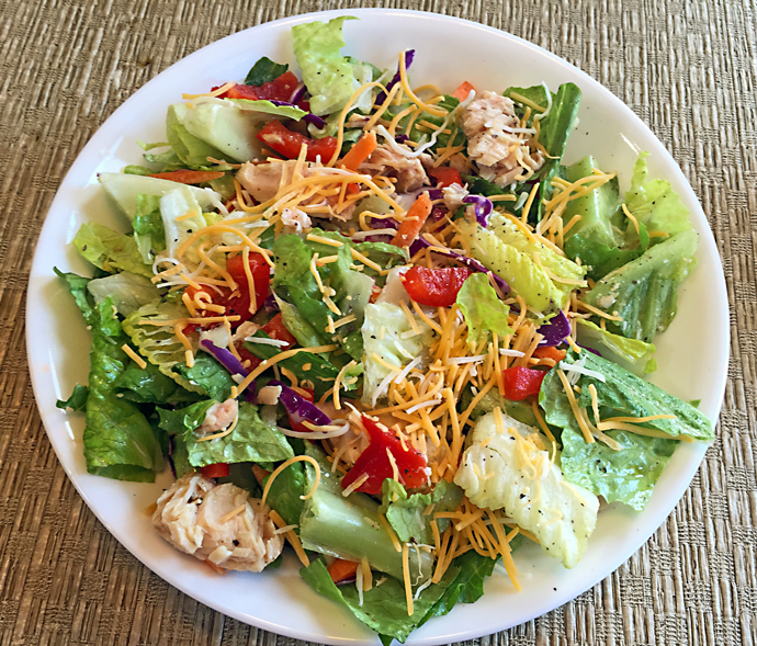 Quick easy main dish salad recipes