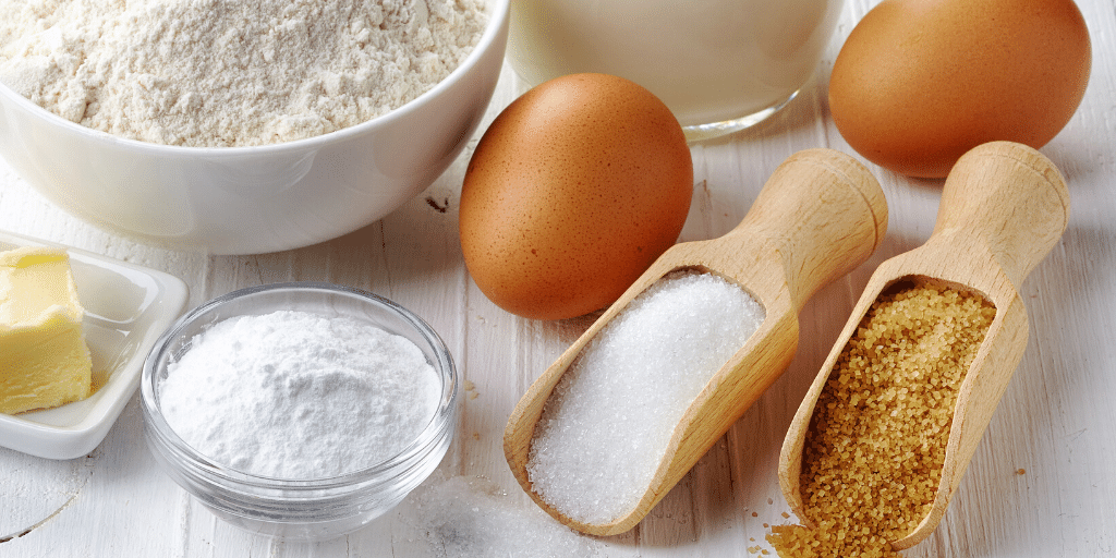 basic ingredients for baking