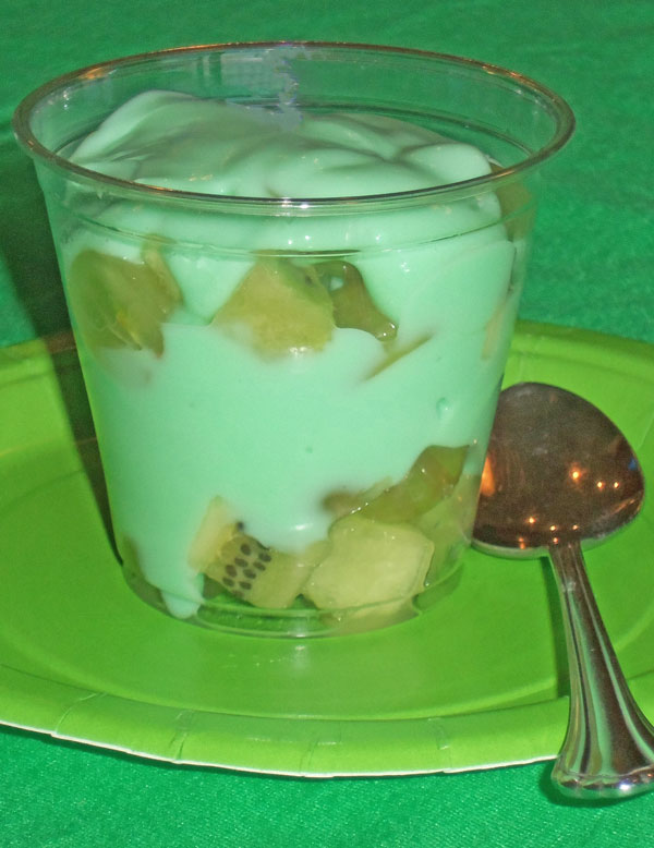 Green Yogurt Parfait