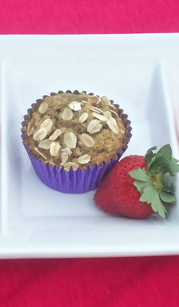 Super Strawberry Muffins