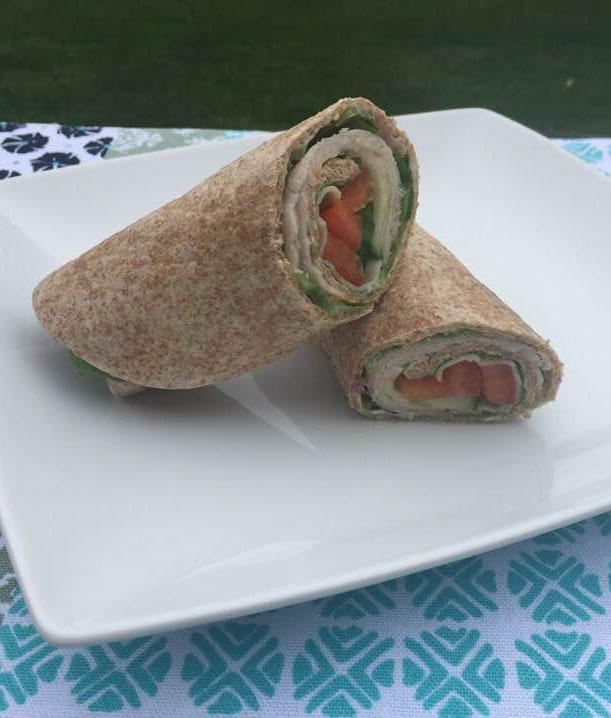 Cucumber Wrap Sandwich