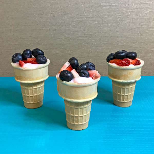 breakfast cones