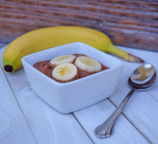 Yummy Choco-Banana 'Ice Cream'