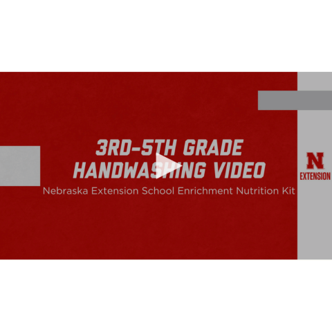 3rd through 4th grade handwashing video