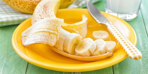 bananas on a plate