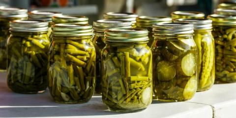 canned green vegetables