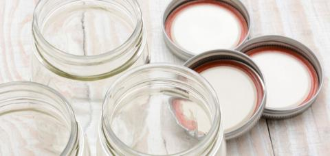 jars and lids for canning