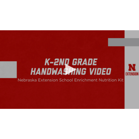 k through 2nd grade handwashing video