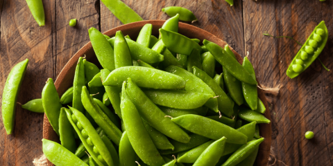 fresh sugar snap peas