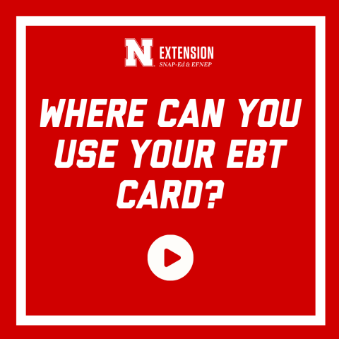 Where can you use your ebt card?