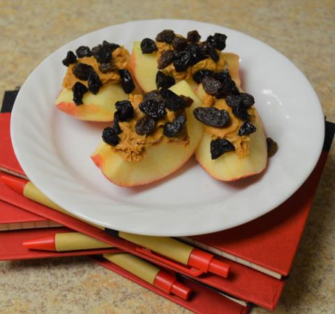 Cherry Nut Apple Slices
