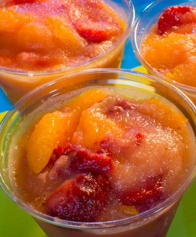 Frozen Fruit Cup