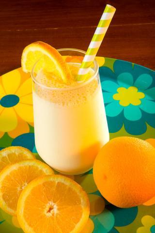 Orange Slushie