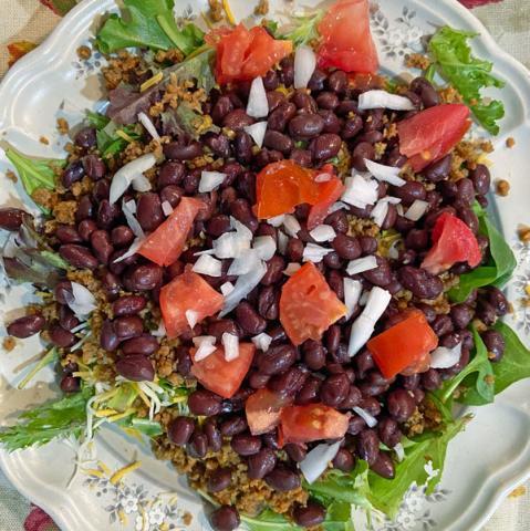 Colorful Taco Salad