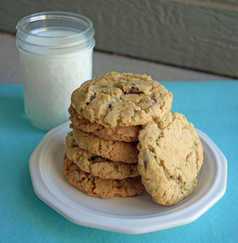 cowboy-cookies-with-milk