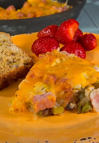 Ham and Egg Frittata