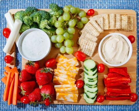 MyPlate Snack Platter