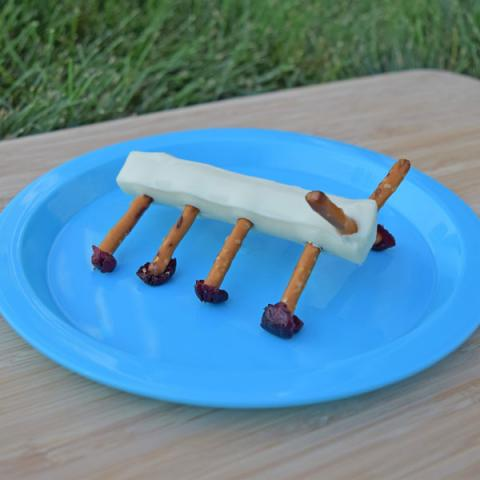 string cheese caterpillars