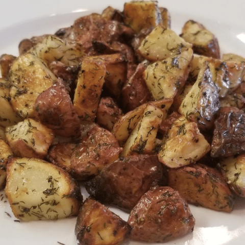 zesty herb potatoes