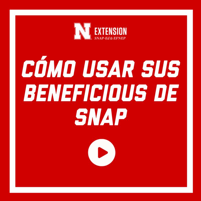 Cómo Usar Sus Beneficious de Snap