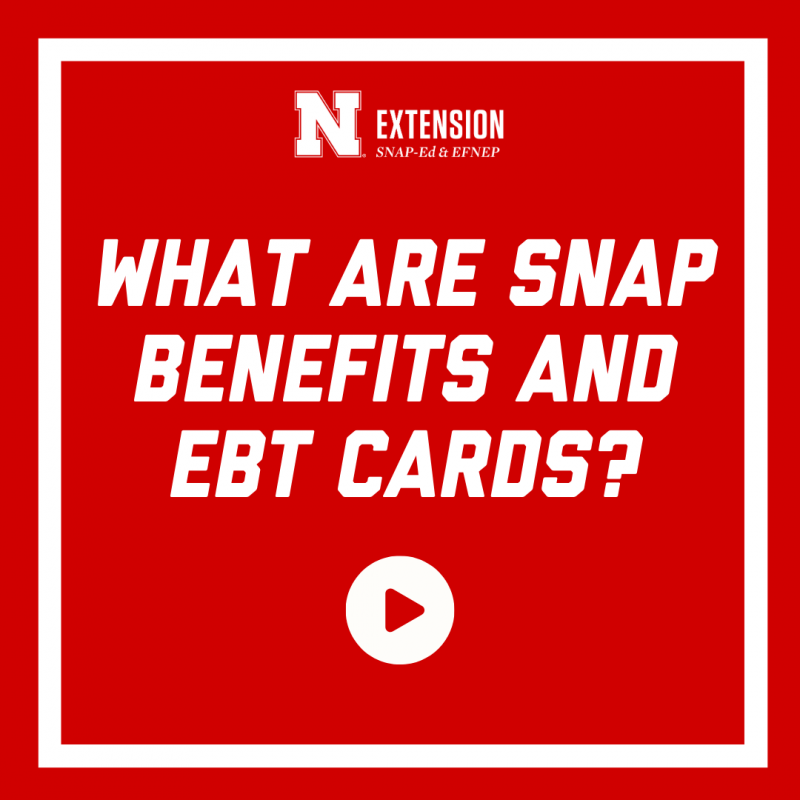 What are snap benefits and ebt cards?