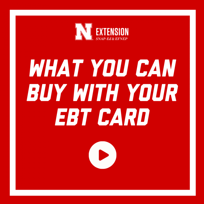 What you can buy with your ebt card